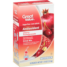 Great Value Immunity Cherry Pomegranate Drink Mix