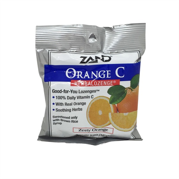 Zand Zesty Orange C Lozenges