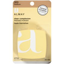 Almay Clear Complexion 300 Medium Pressed Powder .35 oz