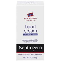 Neutrogena Hand Cream Fragrance Free Norwegian Formula
