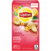 Lipton Lemon Ginger Herbal Tea