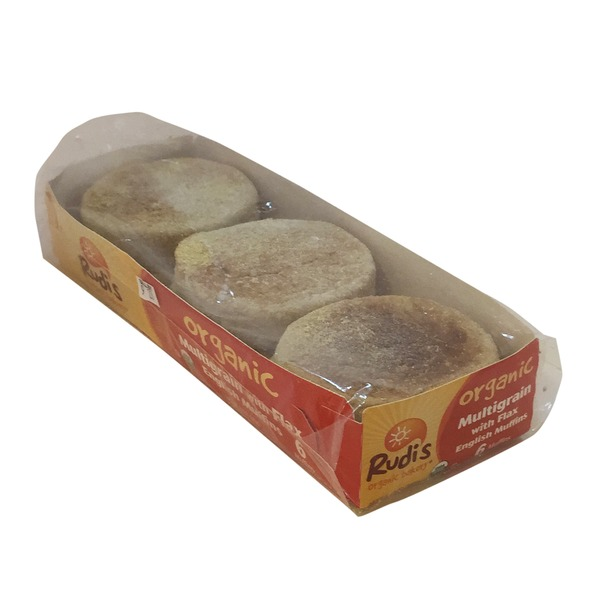 Rudi's Organic Bakery Organic Multigrain with Flax English Muffins