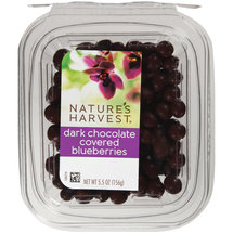 Nature's Harvest Dark Chocolate Covered Blueberries
