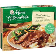 Marie Callender's Slow Roasted Beef w/Garlic Mashed Potatoes/Gravy & Vegetables Meal