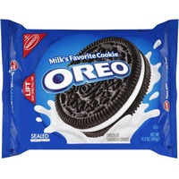 Oreo Chocolate Sandwich Cookies, Original Flavor, 1 Resealable Pack