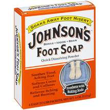 Johnson's Quick Dissolving Powder Foot Soap