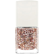 FLOWER Nail'd It Nail Lacquer Liquid Metal Top Coat Rose Gold