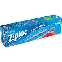 Ziploc Double Zipper Freezer Gallon Storage Bags