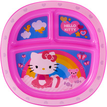 Munchkin Hello Kitty Toddler Plate