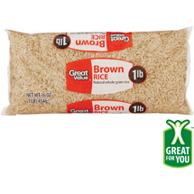 Great Value Brown Rice