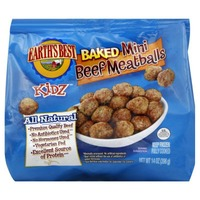 Earth's Best Baked Mini Beef Meatballs