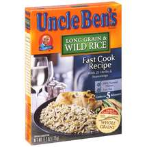 Uncle Bens Long Grain & Wild Rice Fast Cook Recipe