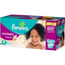 Pampers Cruisers Diapers Size 6