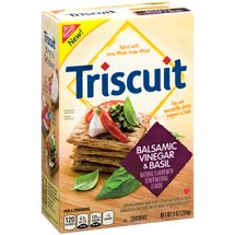 Triscuit Balsamic Vinegar & Basil Crackers