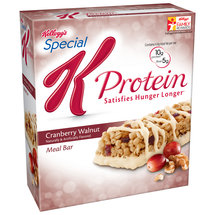 Kellogg's Special K Cranberry Walnut Meal Bars