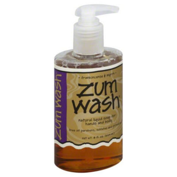 Zum Wash Natural Liquid Soap Frankincense & Myrrh