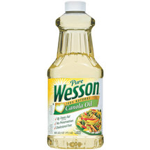 Wesson Pure 100% Natural Canola Oil