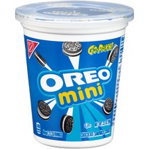 Nabisco Go-Paks! Oreo Mini Chocolate Sandwich Cookies