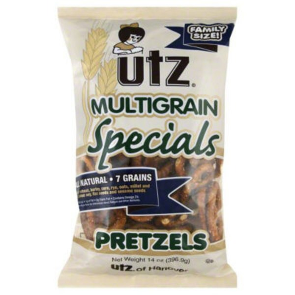 Utz Sourdough Specials Multigrain Pretzels