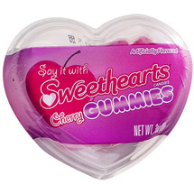 Sweethearts Valentine Cherry Gummies Candy