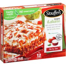 Stouffer's Party Size Lasagna Italiano