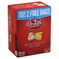Orville Redenbacher's Gourmet Popping Corn Movie Theater Butter - 12 CT