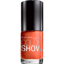 Maybelline Color Show Nail Lacquer Crushed Clementine
