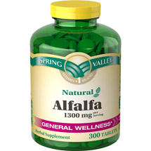 Spring Valley Alfalfa Dietary Supplement