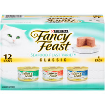 Fancy Feast Loaf Fish Variety Pack