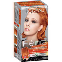 L'Oreal Paris Feria Power Copper High-Intensity Shimmering Color Kit C74 Intense Copper