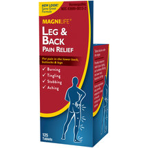 MagniLife Leg & Back Pain Relief Tablets