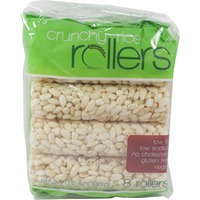 Bamboo Lane Rice Rollers, Crunchy, Low Fat, Low Sodium, Gluten Free, Vegan, Bag