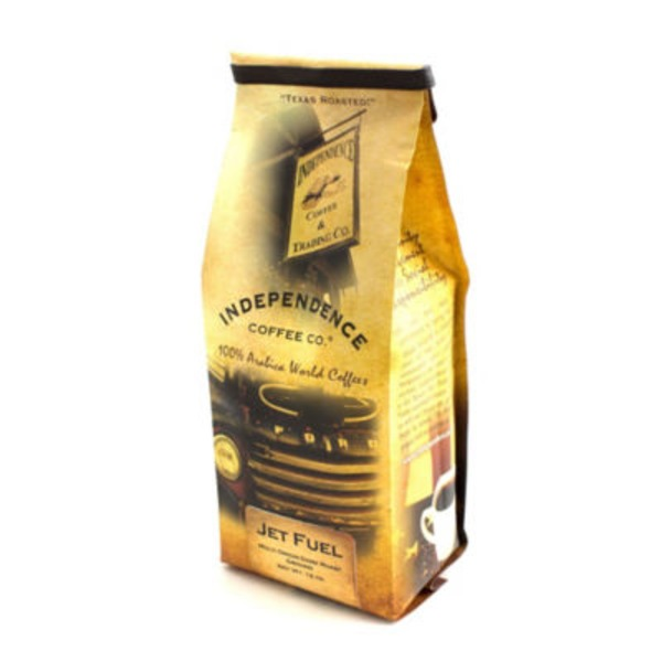 Independence Coffee Co Jet Fuel Ground Coffee
