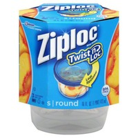 Ziploc Twist 'n Loc Small Round Containers