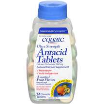 Equate Ultra Strength Antacid Tablets Assorted Fruit Flavors
