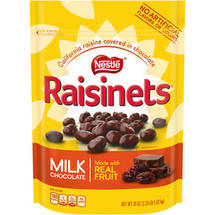 Nestle Raisinets Milk Chocolate Covered Raisins
