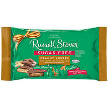 Russell Stover Sugar Free Peanut Lovers Chocolate Candy Assortment