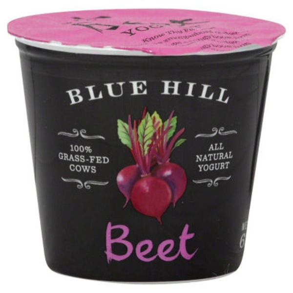 Blue Hill Bay Beet Yogurt
