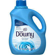 Ultra Downy Clean Breeze with Silk Touch Liquid Fabric Softener