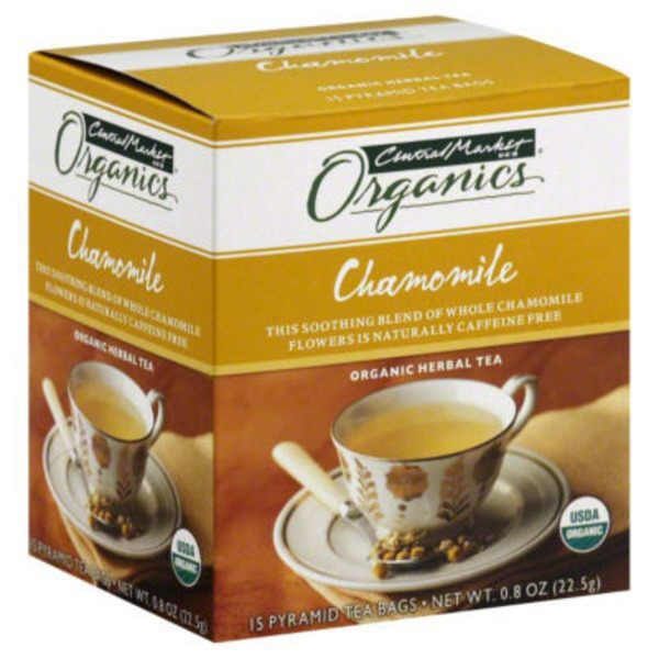 Central Market Organic Herbal Chamomile Tea Bags