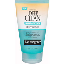Neutrogena Deep Clean Daily Scrub Shine Control
