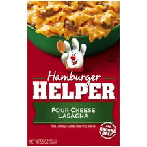 Hamburger Helper 4- Cheese Lasagna