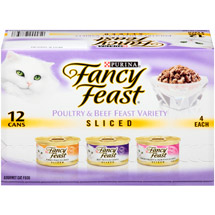 Fancy Feast Sliced Poultry & Beef Variety Cat Food
