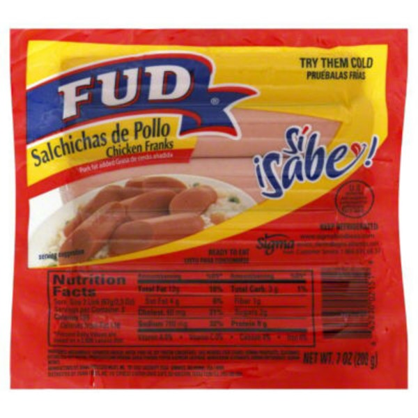 Fud Chicken Franks
