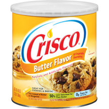 Crisco All-Vegetable Butter Flavor Shortening