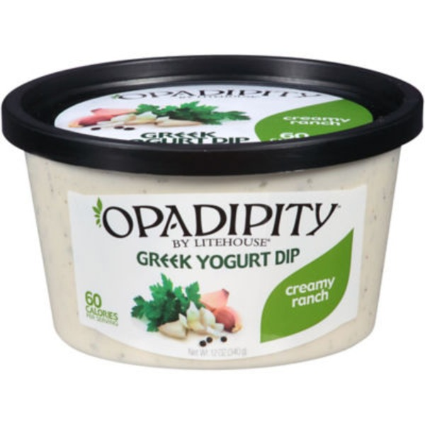 Litehouse Opadipity Greek Yogurt Creamy Ranch Dip