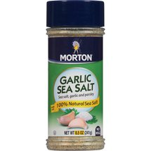 Morton Garlic Sea Salt