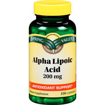 Spring Valley Alpha Lipoic Acid Capsules