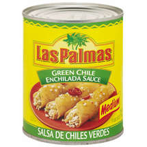Las Palmas Medium Green Chile Enchilada Sauce