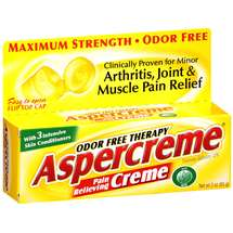 Aspercreme Odor Free Therapy Pain Relieving Creme